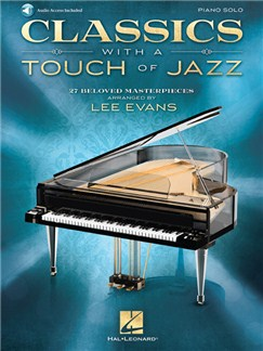 Classics With A Touch Of Jazz (Book/Online Audio) Books and Digital Audio | Piano