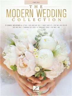 The Modern Wedding Collection Books | Piano