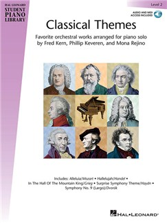 Hal Leonard Student Piano Library: Classical Themes – Level 2 (Book/Online Audio) Books and Digital Audio | Piano