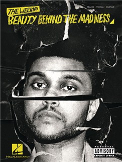 The Weeknd: Beauty Behind The Madness Books | Piano, Vocal & Guitar