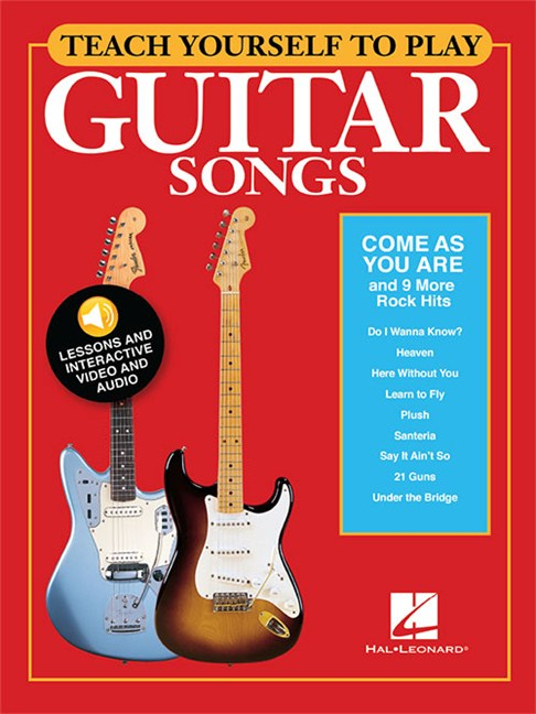 Teach Yourself To Play Guitar Songs: Come As You Are And 9 More Rock ...