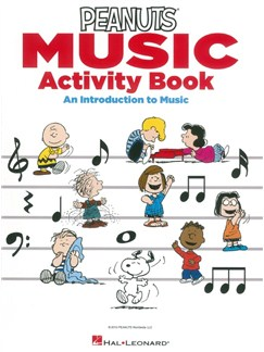 The Peanuts Music Activity Book: An Introduction To Music Livre | Instruments À C