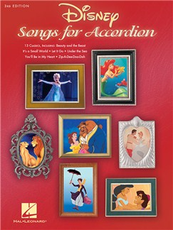 Disney Songs for Accordion: 3rd Edition Books   Accordion