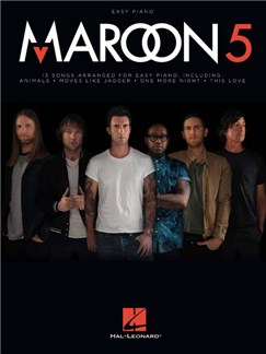 Maroon 5: Easy Piano Livre | Piano Facile