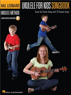 Hal Leonard Ukulele Method: Ukulele For Kids Songbook (Book/Online Audio) Audio Digitale et Livre | Ukelele