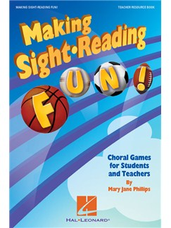 Mary Jane Phillips: Making Sight Reading Fun! Books | Voice