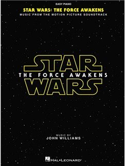Star Wars: Episode VII – The Force Awakens (Easy Piano) Buch | Einfaches Klavier