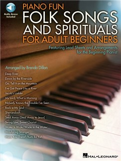 Arr. Brenda Dillon: Piano Fun – Folk Songs And Spirituals For Adult Beginners (Book/Online Audio) Books | Piano