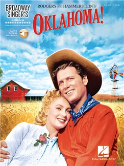 Broadway Singer's Edition: Oklahoma! (Book/Online Audio) Books and Digital Audio | Voice, Piano Accompaniment