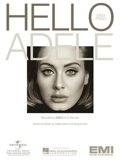 Adele: Hello (Easy Piano) Books | Easy Piano