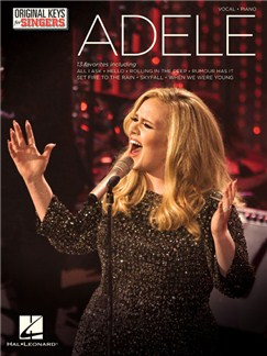 Adele: Original Keys For Singers Books | Voice/Piano Accompaniment
