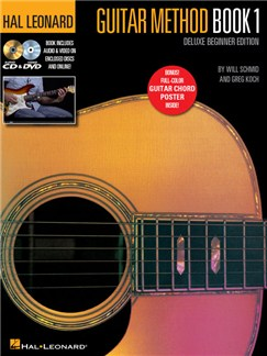 Hal Leonard Guitar Method: Book 1 - Deluxe Beginner Edition (Book/Online Media) Books, CDs, Digital Audio and DVDs / Videos | Guitar