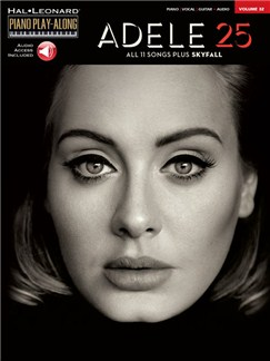 Piano Play-Along Volume 32: Adele (Book/Online Audio) Books and Digital Audio | Piano