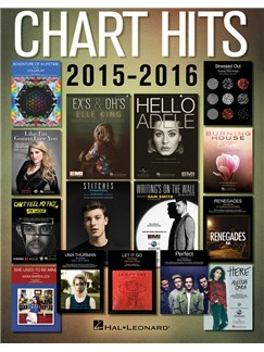 Chart Hits Of 2015-2016 Books | Easy Piano