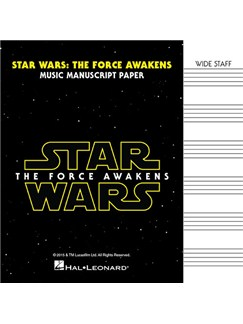 Star Wars: The Force Awakens – Manuscript Paper  |