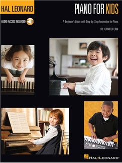 Jennifer Linn: Piano For Kids (Book/Online Audio) Books and Digital Audio | Piano
