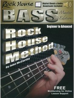 Rock House Bass Guitar Master Edition (Book/Online Media) Books and Digital Audio | Bass Guitar