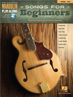 Mandolin Play-Along Volume 10: Songs For Beginners Books and Digital Audio | Mandolin