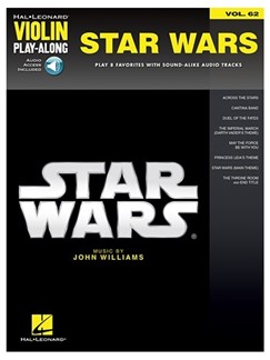 Violin Play-Along Volume 62: Star Wars (Book/Online Audio) Books and CDs | Violin