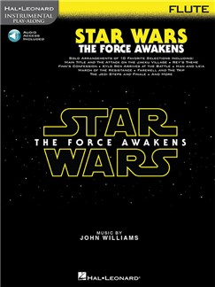 Hal Leonard Instrumental Play-Along: Star Wars - The Force Awakens (Flute) (Book/Online Audio) Books | Flute