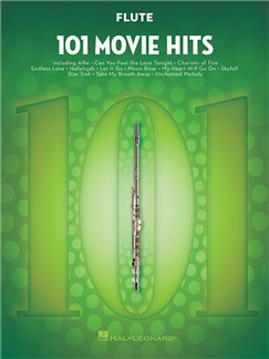101 Movie Hits For Flute Livre | Flûte Traversière