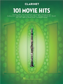 101 Movie Hits For Clarinet Books | Clarinet