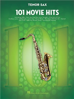 101 Movie Hits For Tenor Saxophone Books | Tenor Saxophone