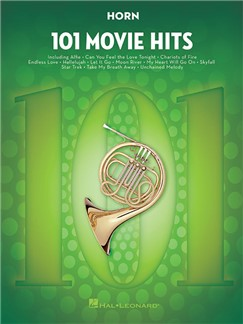 101 Movie Hits For Horn Books | French Horn