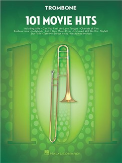 101 Movie Hits For Trombone Books | Trombone