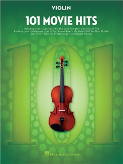 101 Movie Hits For Violin Livre | Violon