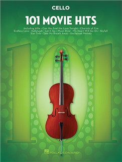 101 Movie Hits For Cello Livre | Violoncelle