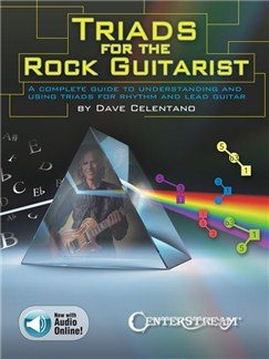 Dave Celentano: Triads For The Rock Guitarist (Book/Online Audio) Books and Digital Audio | Guitar