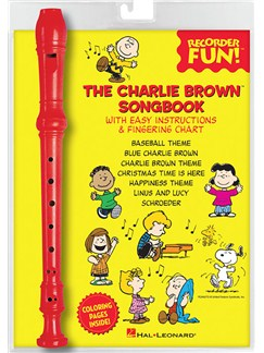 The Charlie Brown™ Songbook: Recorder Fun! Books and Instruments | Soprano (Descant) Recorder