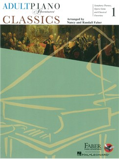 Faber Adult Piano Adventures: Classics - Book 1 Books | Piano