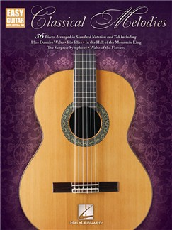 Classical Melodies: Easy Guitar With Notes & Tab Books | Easy Guitar