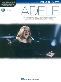 Hal Leonard Instrumental Play-Along: Adele - Clarinet (Book/Online Audio) Books | Clarinet