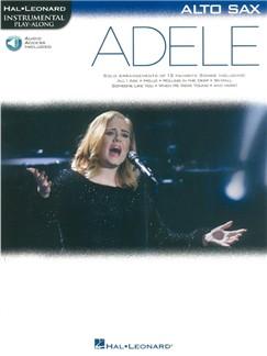 Hal Leonard Instrumental Play-Along: Adele - Alto Saxophone (Book/Online Audio) Books | Alto Saxophone