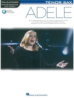 Hal Leonard Instrumental Play-Along: Adele - Tenor Saxophone (Book/Online Audio) Books | Tenor Saxophone