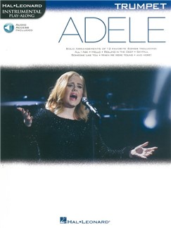 Hal Leonard Instrumental Play-Along: Adele - Trumpet (Book/Online Audio) Books | Trumpet