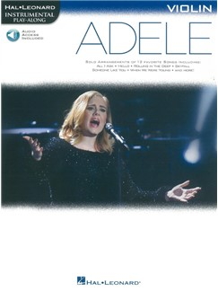 Hal Leonard Instrumental Play-Along: Adele - Violin (Book/Online Audio) Buch | Violine
