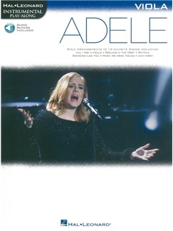Hal Leonard Instrumental Play-Along: Adele - Viola (Book/Online Audio) Books | Viola