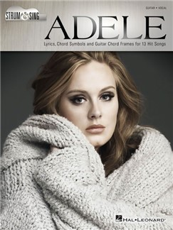 Adele: Strum & Sing Livre | Paroles et Accords