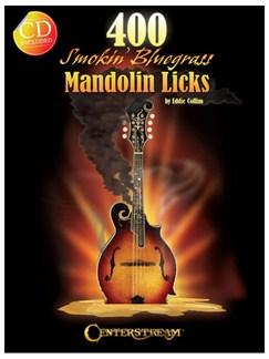 400 Smokin' Bluegrass Mandolin Licks (Book/CD) Books and CDs | Mandolin