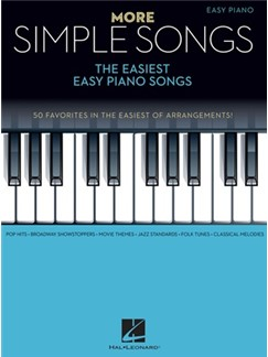 More Simple Songs: The Easiest Easy Piano Songs Buch | Klavier