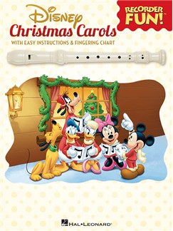 Disney Christmas Carols: Recorder Fun! Books | Recorder