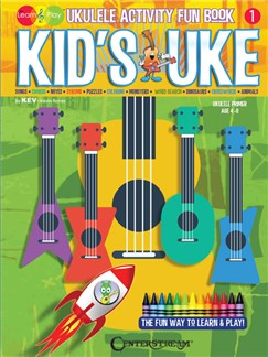 Kid's Uke: Ukulele Activity Fun Book Books | <p>Ukulele<, p>