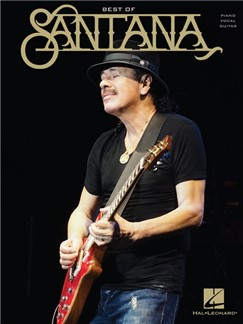Best Of Santana (PVG) Books | Piano, Vocal & Guitar