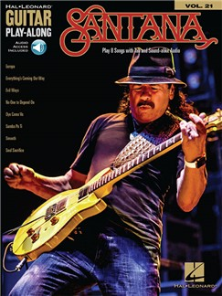 Guitar Play-Along Volume 21: Santana (Book/Online Audio) Books and Digital Audio | Guitar Tab