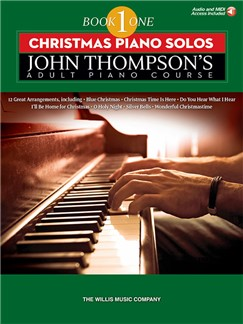 John Thompson's Adult Piano Course: Book 1 - Christmas Piano Solos Books | Piano