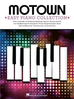 Motown: Easy Piano Collection Books | Piano, Vocal & Guitar